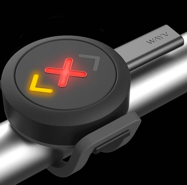Wayv – Un système d'éclairage de vélo connecté 1