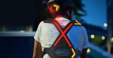 Wayv – Un système d'éclairage de vélo connecté