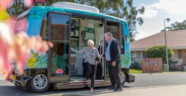 EasyMile EZ10 – La navette autonome arrive en Australie