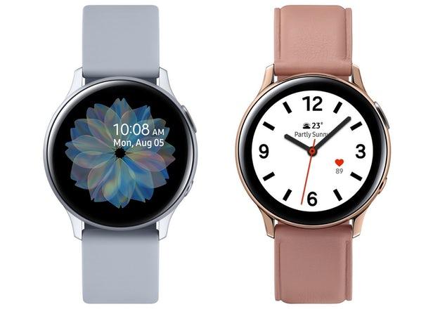 La Galaxy Watch Active2 avec un cadran tactile et LTE arrive 1