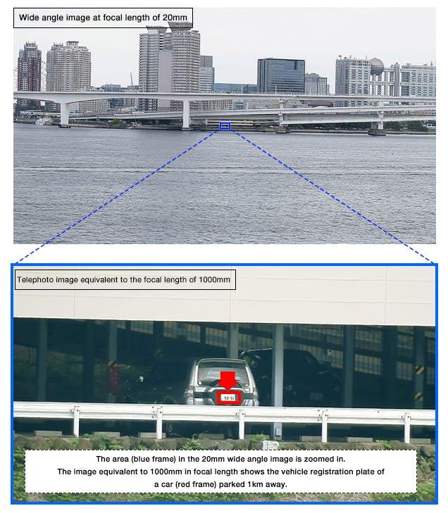 SX800 - Fujifilm se lance sur le marché des caméras de surveillance 1