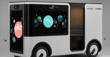 SC-1 Sociable Cart - Sony et Yamaha Motor s'associent pour concevoir un van destiné au divertissement