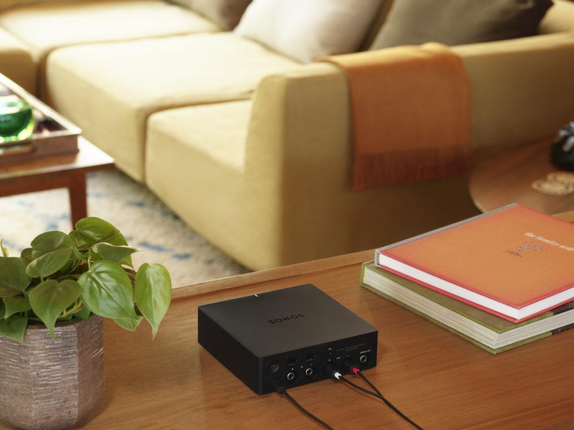 Sonos Port connecte votre configuration stéréo existante à Sonos et AirPlay 2 2