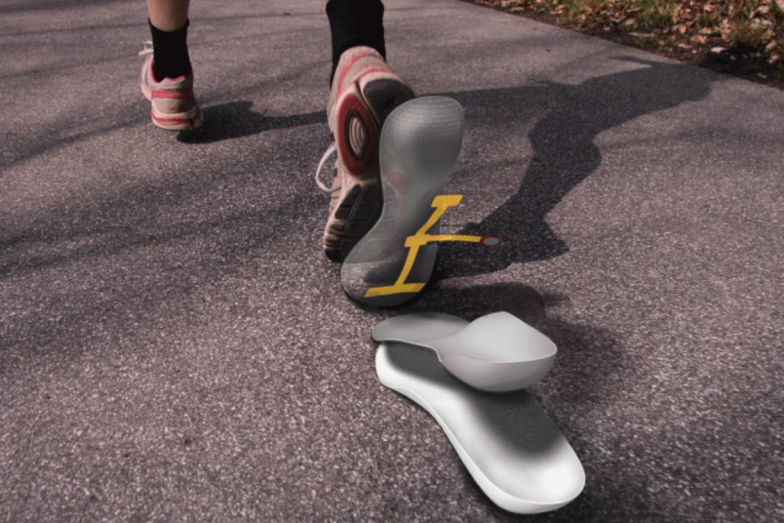 Cette semelle intelligente surveille les pieds diabétiques