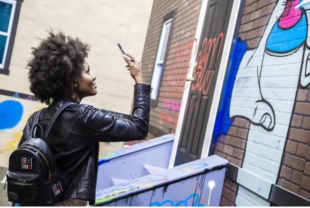 Les graffitis virtuels sont-ils le futur du streetartgrâce à Mark AR