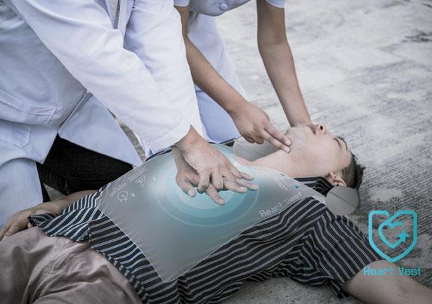 Heart Vest permet à tout le monde de pratiquer une réanimation cardio-respiratoire
