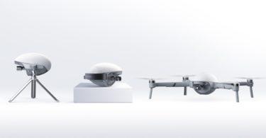 PowerEgg X – Un drone qui sert aussi de caméra de suivi alimentée par l'IA