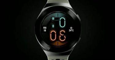 Huawei Watch GT2e se dévoile avec un nouveau look