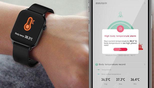 TicWris GTS – Une smartwtach qui surveille votre température 1