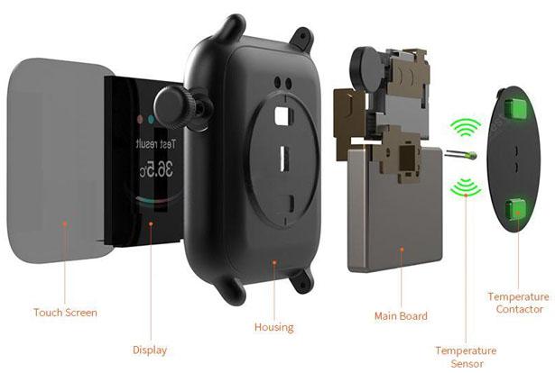 TicWris GTS – Une smartwtach qui surveille votre température 2