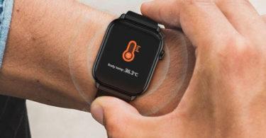TicWris GTS – Une smartwtach qui surveille votre température
