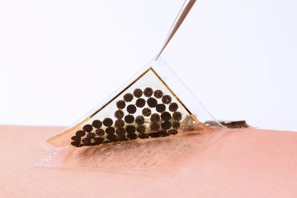 Caltech dévoile une peau électronique équipée de capteurs