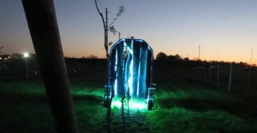 Thorvald - Des robots émetteurs d'UV parcourent les vignobles pour tuer les champignons