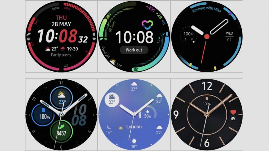 Cadrans de la montre intelligente