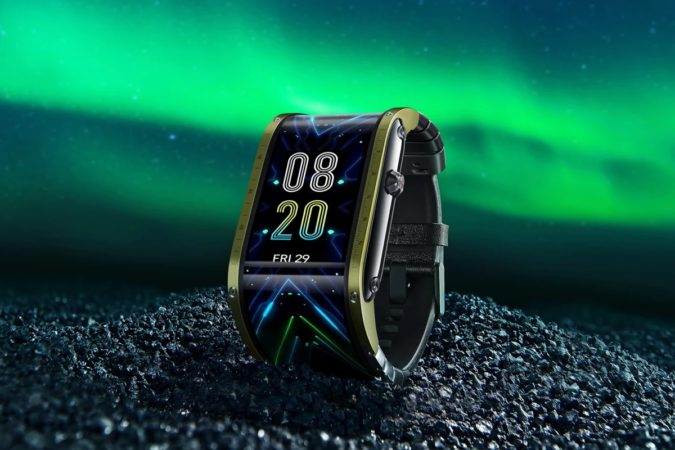 Nubia Watch vous offre un écran enveloppant polyvalent à votre poignet
