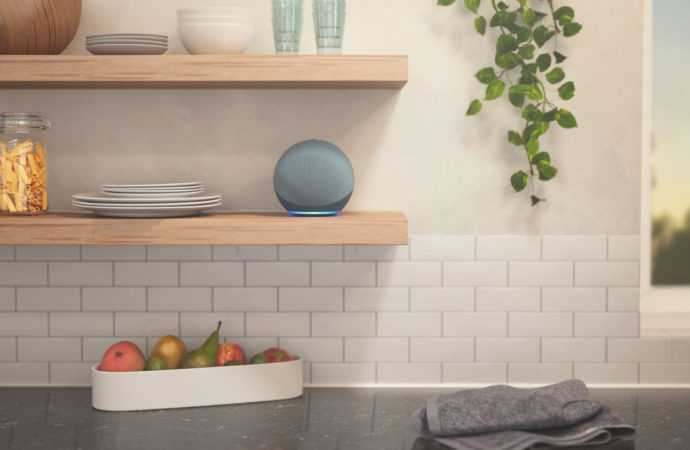 Le nouveau haut parleur Echo d'Amazon a un tout nouveau design sphérique