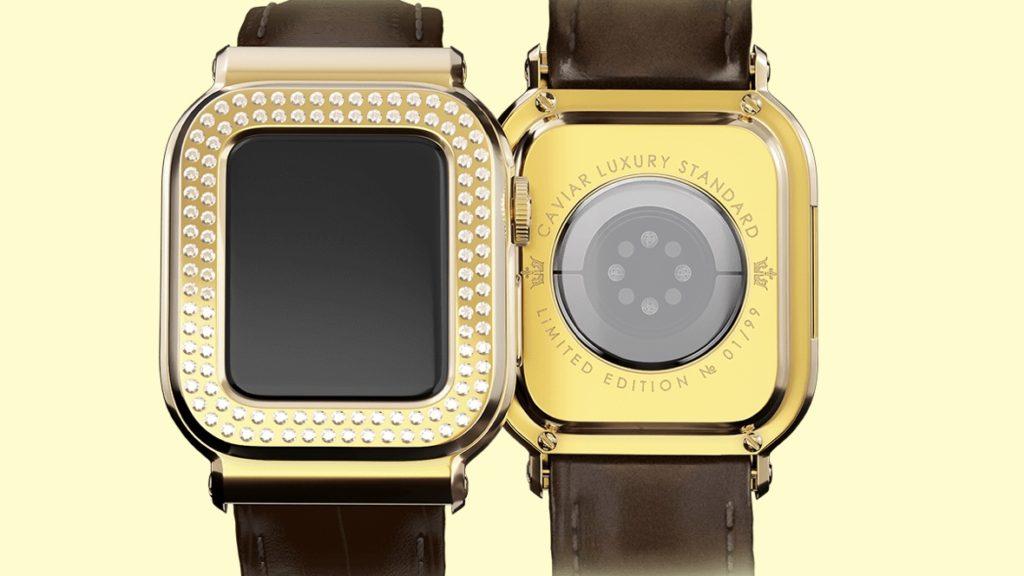 Caviar Royal Gift crée une Apple Watch à 45 000 dollars