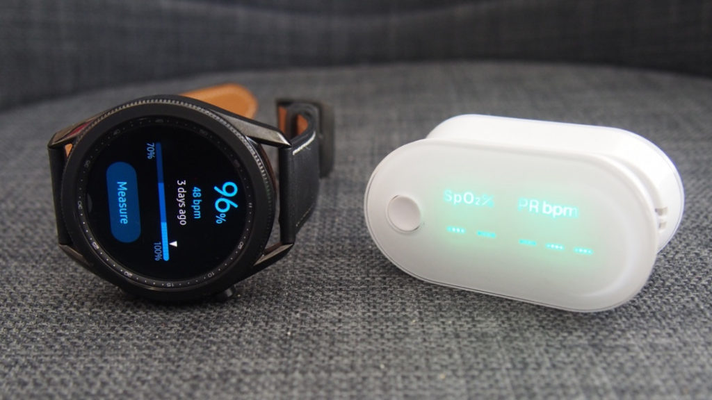 Samsung Galaxy Watch 3 met à jour son capteur SpO2