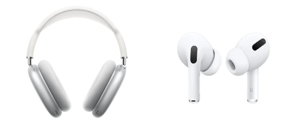 Apple AirPods Max vs AirPods Pro