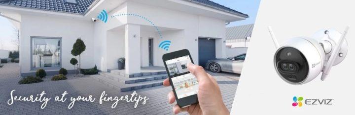 EZVIZ propose une large gamme de caméras domestiques intelligentes