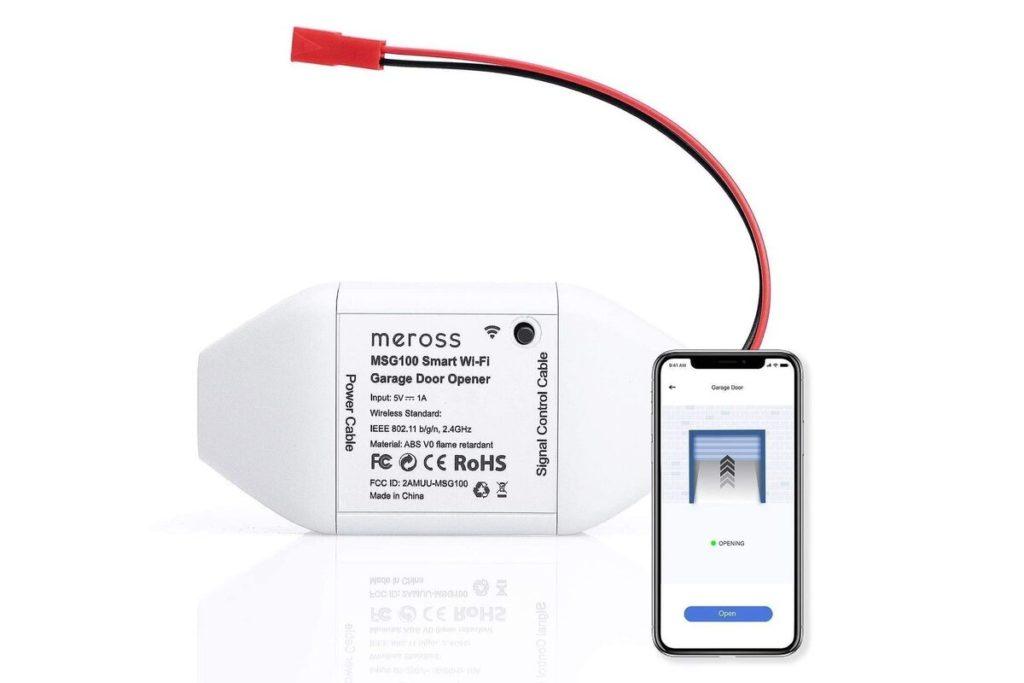 L'ouvre-porte de garage connecté WiFi de Meross