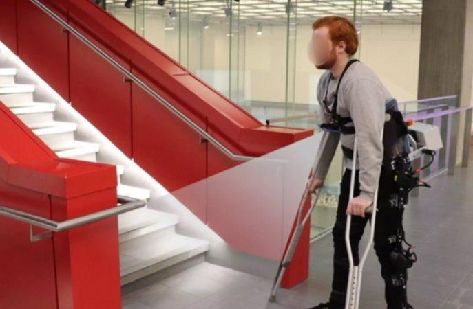 Les exosquelettes robotisés plus simple à utiliser grâce à l'IA