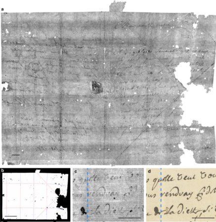 Nosy AI lit une lettre scellée vieille de 300 ans 1