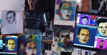 Le robot Sophia vend une œuvre d'art numérique NFT pour près de 700 000 dollars