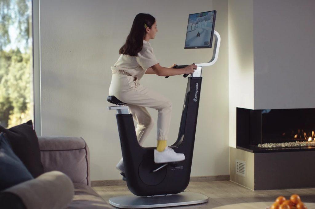 Playpulse One combine le jeu et le vélo stationnaire en un seul appareil