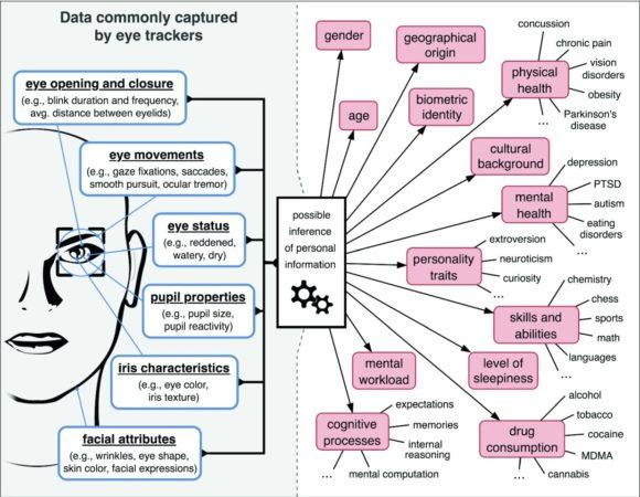 oculométrie peut révéler une quantité incroyable d'informations sur vous 1