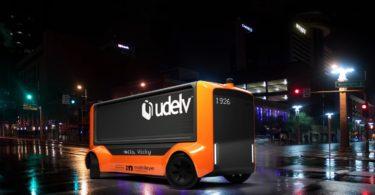 Mobileye et Udelv nacelle de livraison sans conducteur