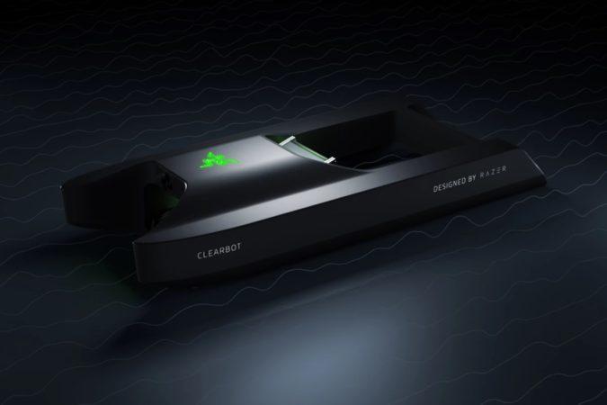 Clearbot renforce son action d'élimination des détritus marins avec l'aide de Razer