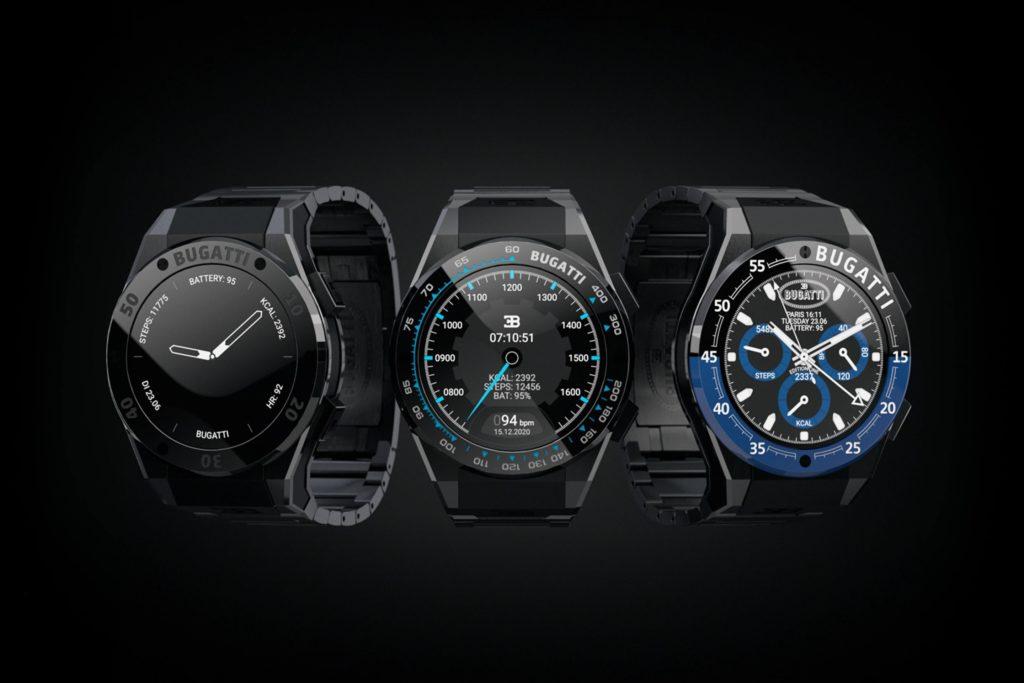 Les smartwatches Bugatti arrivent sur le marché 1