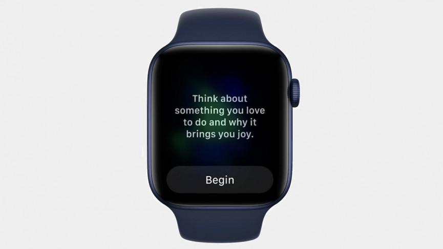 watchOS 8 et la nouvelle application Mindfulness