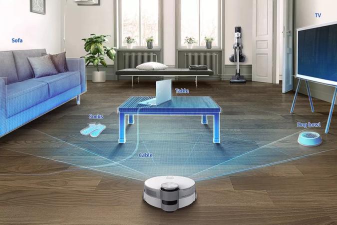 Jet Bot AI+ aspirateur robot Samsung