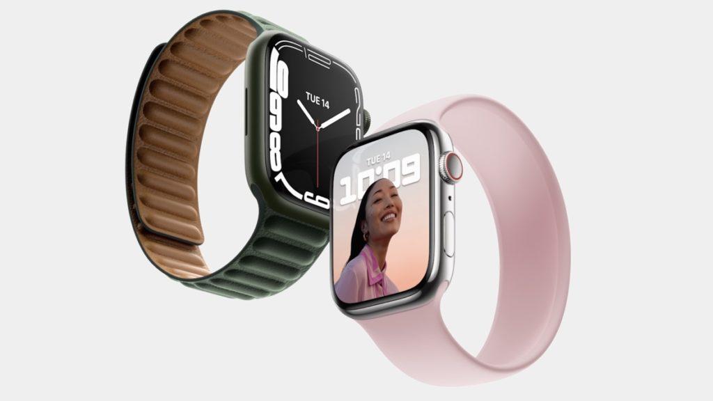 Apple Watch Series 7 un écran plus grand et un design modifié