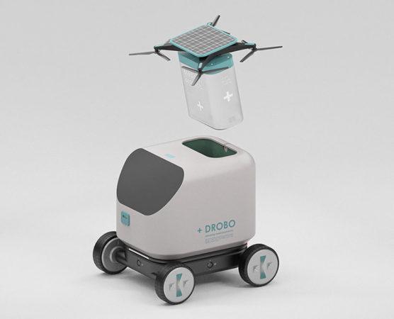 +DROBO – Un robot futuriste de livraison de médicaments 1