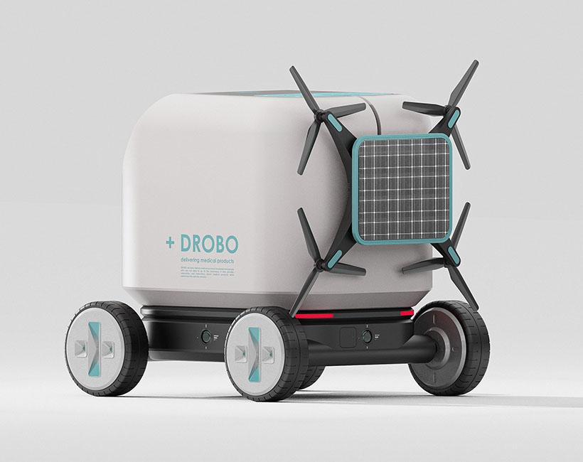 +DROBO – Un robot futuriste de livraison de médicaments