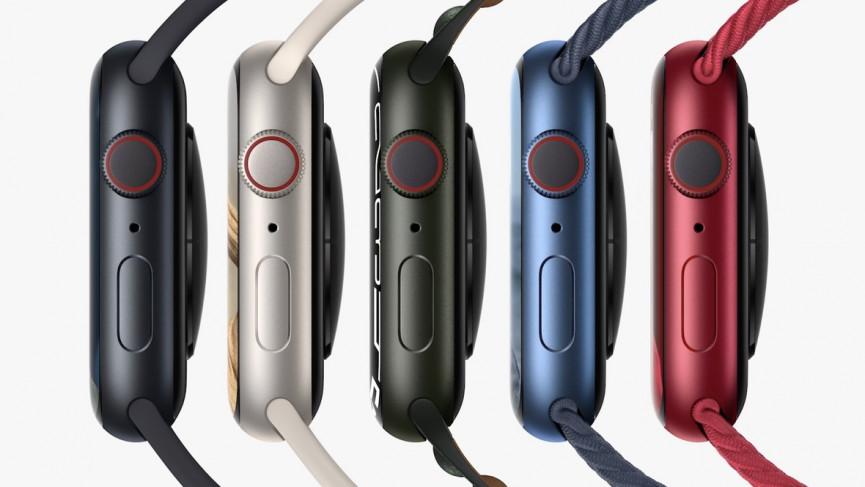 Design de l'Apple Watch Series 7