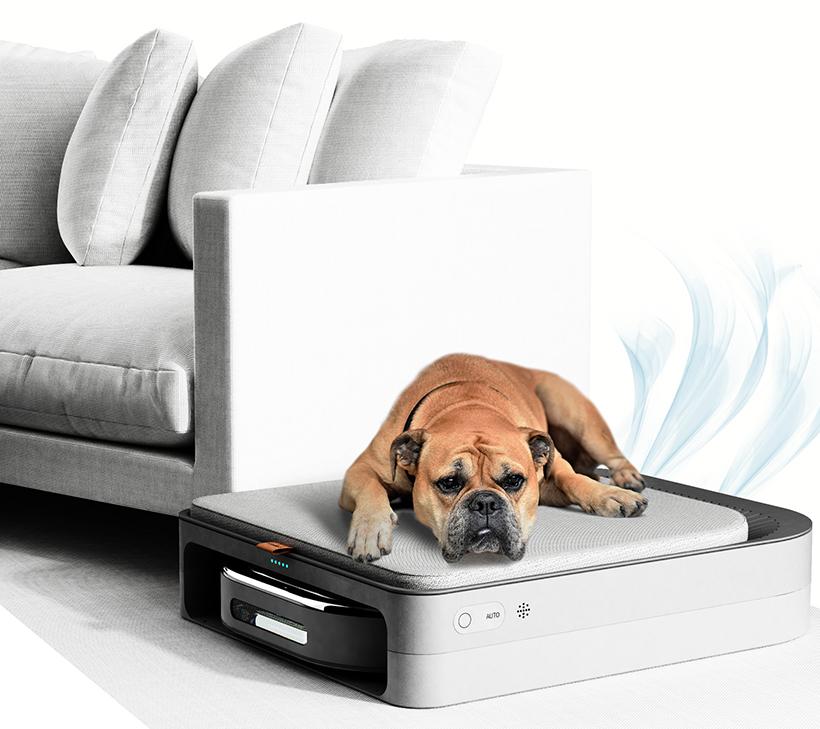 Puro Pet Care Robot – Lit, aspirateur et purificateur pour animaux