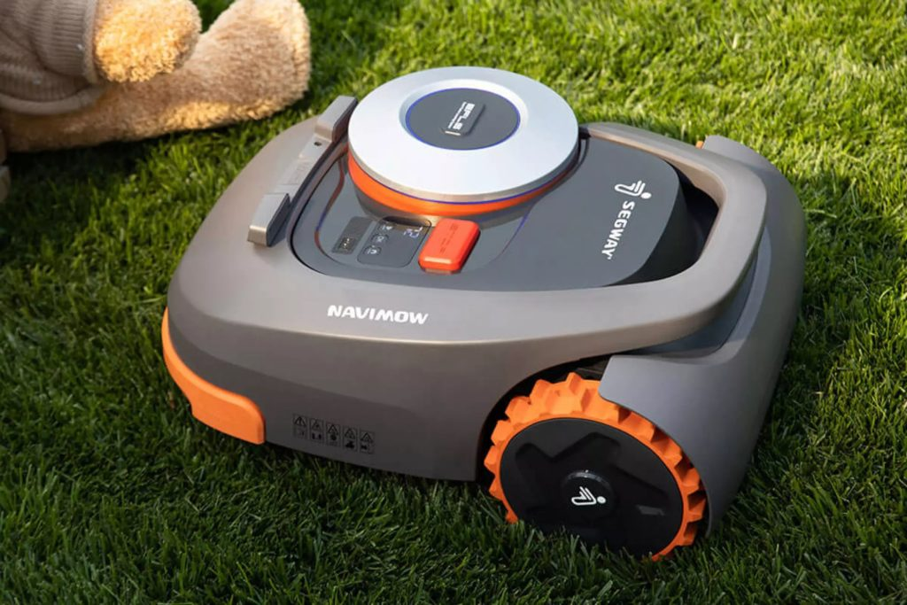 robot tondeuse à gazon Segway-Ninebot