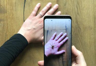 Phobys - Une application pour smartphone en RA pour aider à vaincre la peur des araignées